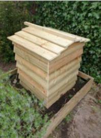 Compostbak - huisjesvorm