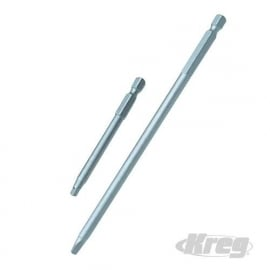 Kreg 2 /Triton 2  POCKETHOLE R2 - 2 St  Vierkante bit 152 en 76 mm