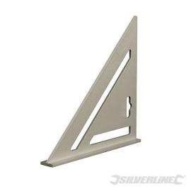 Amerikaanse Haak - imperial maten - aluminiumkleurig