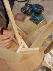 Workshop houtverbindingen bij BeQwaam