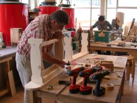 Workshop Meubelmaken Hout en Machines (konkelbank)