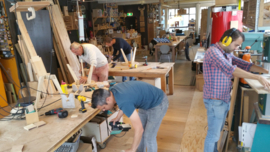 Workshop Meubelmaken Vrije Stappen