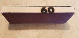 Schuurblok met topkwaliteit schuurpapier P60