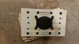 Schuurzool VELCRO voor oa RTS400/RS400 Festool