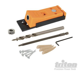 Triton  pockethole jig - Mini - MET MILLIMETER AANDUIDING