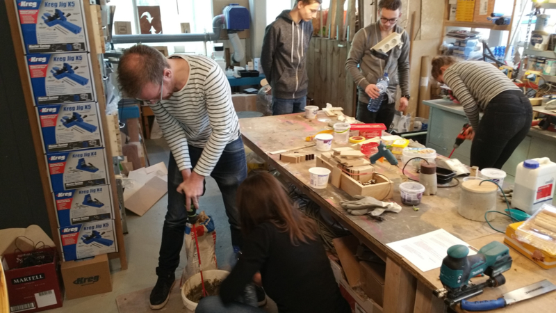 Workshop Moderne Houtverbindingen