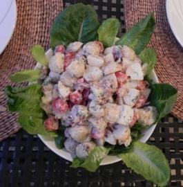 krieltjes salade (klein)