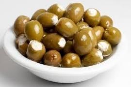 kruidenkaas olijven