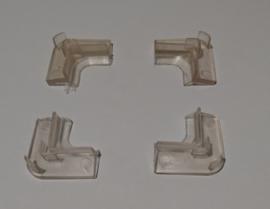 Hoek rubbers onderzijde Move (4st.)