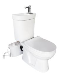 Sani-Compleet Eco - Toilet met ingebouwde wasbak en kraan