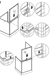 Next Move Mobile Shower Cabin - 90x90 cm