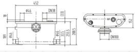 Broyeur Pomp FLO400 - De meest compacte pomp/vermaler