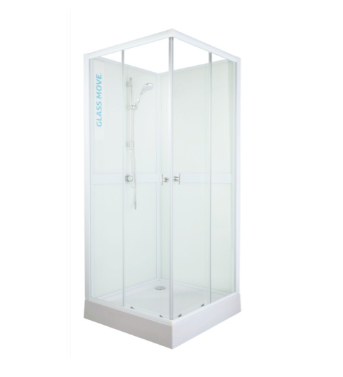 Glass Move Mobile Shower Cabin -  90x90cm