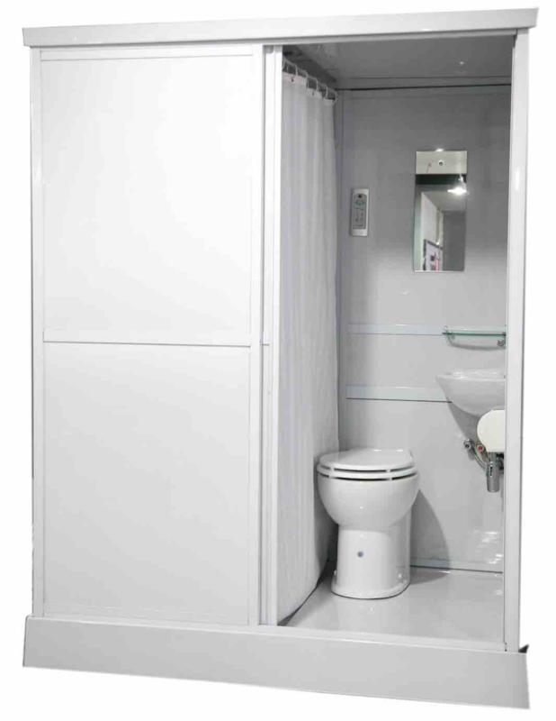 Big Move - Mobiele Badkamer/Douchecabine - Toilet