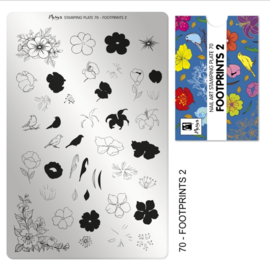 Moyra Stamping Plate 70 Footprints2