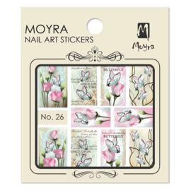 Moyra Nail Art Sticker Watertransfer No.26