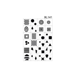 PNS Airbrush Stencil Sjablonen XL141
