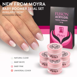 Moyra Fushion AcrylGel BabyBoomer Trial Set