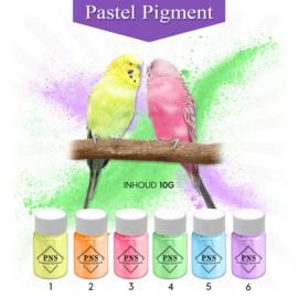 PNS Pure Pastel Pigment Set No. 1 t/m 6