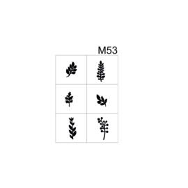 PNS Airbrush Stencil Sjablonen M53