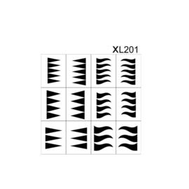 PNS Airbrush Stencil Sjablonen XL201
