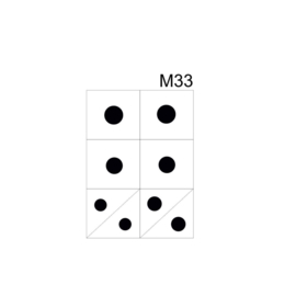 PNS Airbrush Stencil Sjablonen M33