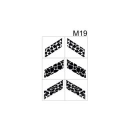 PNS Airbrush Stencil Sjablonen M19