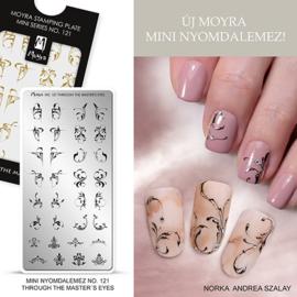 Moyra Mini Stamping Plate 121 Trough the master's eye