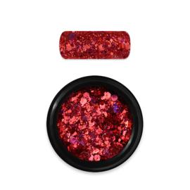 Moyra Rainbow Holo Glitter Mix 11. Red