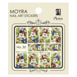 Moyra Nail Art Sticker Watertransfer No.30