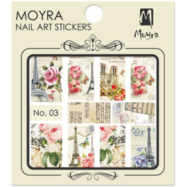 Moyra Nail Art Sticker Watertransfer No.03