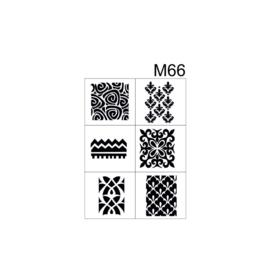 PNS Airbrush Stencil Sjablonen M66