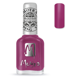 Moyra Stamping Nail Polish sp39 Peony Red