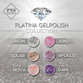 PNS Platina Gelpolish Set 6x8ml