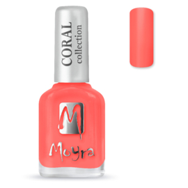 Moyra Nail Polish Coral 213 Hawaii