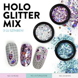 Moyra Rainbow Holo Glitter Mix 4. Turquise