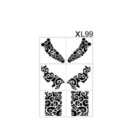 PNS Airbrush Stencil Sjablonen XL99