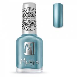 Moyra Stamping Nail Polish sp26 chrome blue