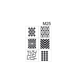 PNS Airbrush Stencil Sjablonen M25