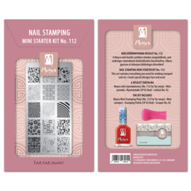 Moyra Mini Stamping Starter Kit 112 Far Far Away
