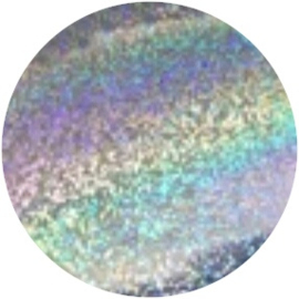 PNS Foil Glitter Silver Fijn 1