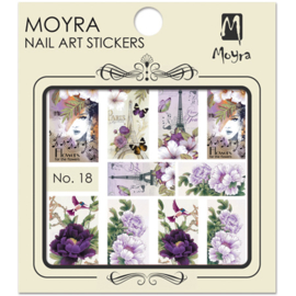 Moyra Nail Art Sticker Watertransfer No.18