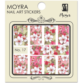 Moyra Nail Art Sticker Watertransfer No.17