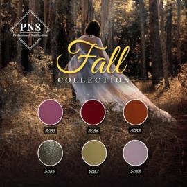 PNSgelpolish Fall Collection 5083 tm 5088