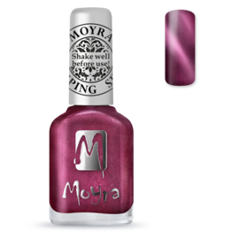 Moyra Stamping Nail Polish sp32 cateye red
