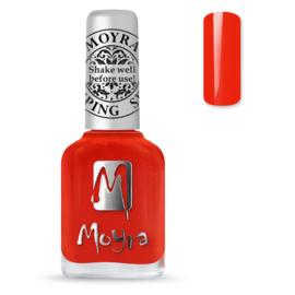 Moyra Stamping Nail Polish sp41 Amber Orange