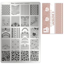 Moyra Stamping Plate 96 Lace Love 3