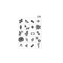 PNS Airbrush Stencil Sjablonen XL238