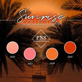 PNSgelpolish Sunrise Collection 5052 t/m 5055