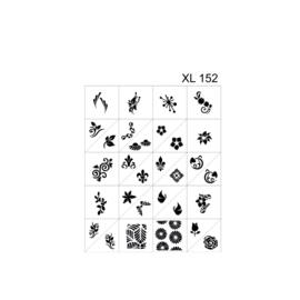 PNS Airbrush Stencil Sjablonen XL152